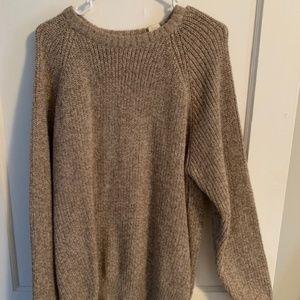 Tan Sweater